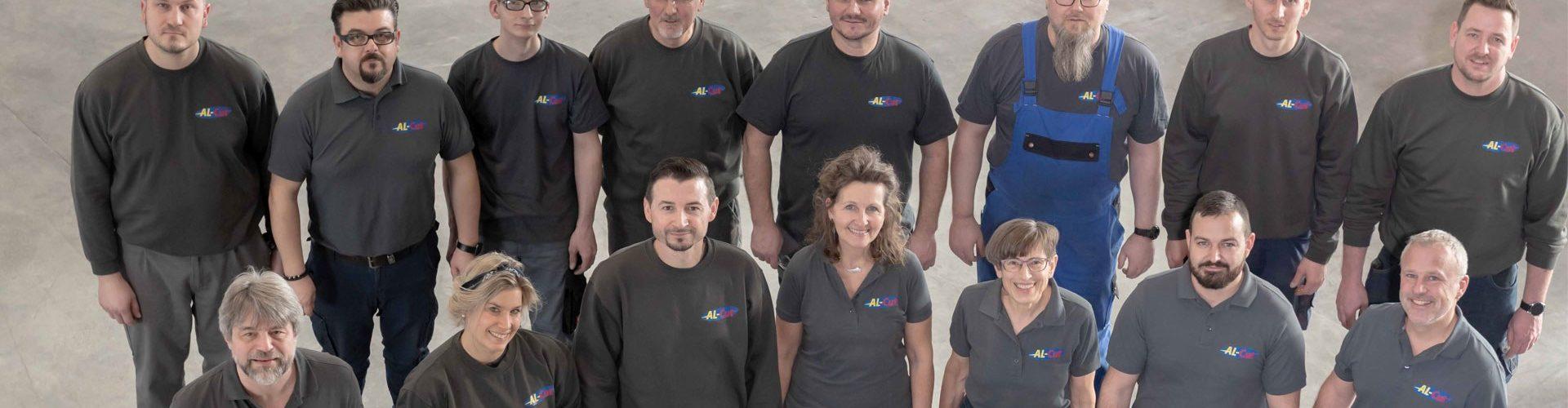 Al Cut Banner Team